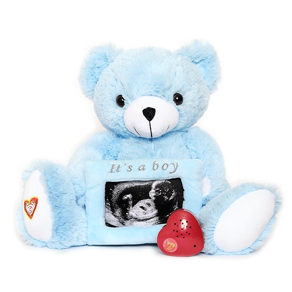 Blue Gender Reveal Bear - Blue Gender Reveal Bear
