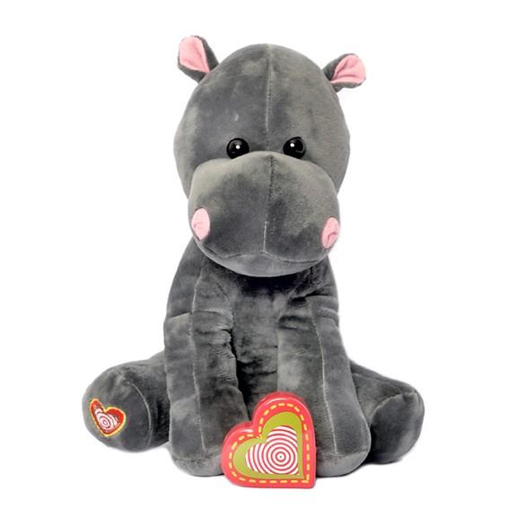 Hippo recordable stuffed animal kit - Hippo