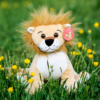Tan lion recordable stuffed animal - Lion 2 100x100
