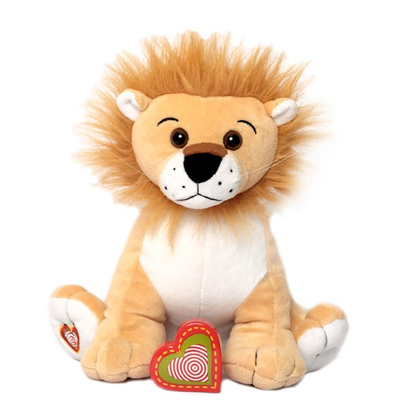 Tan lion recordable stuffed animal - Lion