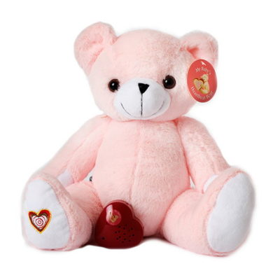 Heart Beat Animals - MED PINKBEAR NBOX 400x400