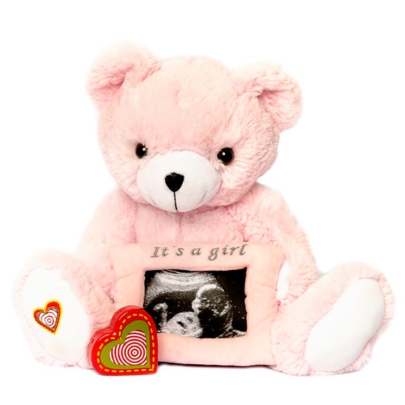 Pink Gender Reveal Bear - Pink Gender Reveal Bear