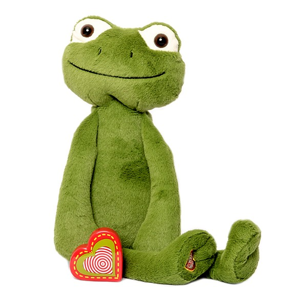 Vintage Frog recordable stuffed animal kit - Vintage Frog